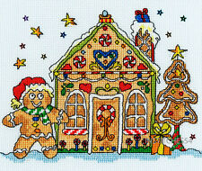 Bothy Threads Cross Stitch Kit Sew Dinky Gingerbread House