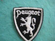 """Vintage Peugeot Auto Of France Patch Sew On  2"""" X 2 3/8"""""""