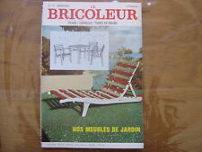 1972 LE BRICOLEUR plans conseils bricole et brocante SOMMAIRE EN PHOTO n° 72