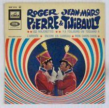 Dédicaces Roger Pierre et Jean-Marc Thibault 45 tours Les majorettes 1967