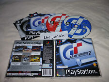 Gran Turismo 2 PS1 (COMPLETE) rare black label Sony PlayStation driving car
