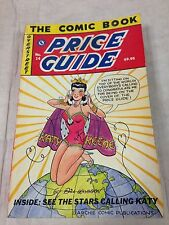 Official Overstreet Comic Book Price Guide #14 1984 Katy Keene cover