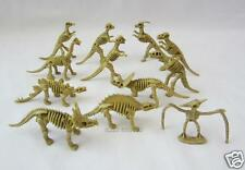 12 Skeleton Fossil Bone Dino Dinosaur Toy Figure Party Goody Bag Favor Supply