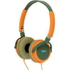Urbanz Lightweight DJ Style Full Ear Headphones Green