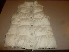 Kids Girls OLD NAVY  Puffer Jacket White Vest sz XL 10-12