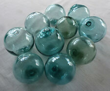 "Vintage Japanese Round Glass Fishing Floats, 3"",   Lot 10"