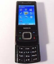 Nokia Slide 6500 - Black (Unlocked) Mobile Phone - 6500s