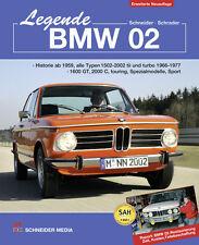BMW 02 Restaurierung 1502 1600 GT 1602 1802 2000 C 2002 TI tii Touring Buch book