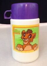 Vintage Aladdin Disney Lion King II 2 Kovu Lunch Box Thermos ONLY Simba's Pride