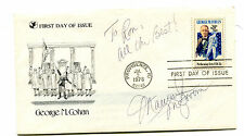 Autograph MAUREEN McGOVERN singer on FDC George M Cohan