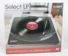 Ion Select LP Vinyl Record Album Digital Conversion Turntable for Mac and PC