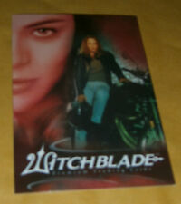 TV SERIES PROMO CARD - WITCHBLADE P1 - INKWORKS 2002