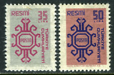 Turkey O159-O160, MI D161-D162, MNH. Official stamps, 1981