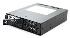 "New ICY Dock ToughArmor MB994SP-4SB-1 4 bay 2.5"" SATA HDD Hot Swap Mobile Rack"