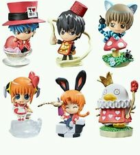 Gintamasan in wonderland Red Rouge of passion 6 Box set Figures MegaHouse Japan