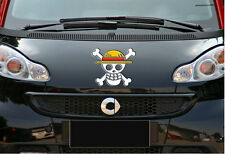 "Car sticker decal "" Reflective One Piece skull "" (item Location: US) (13cm) A014"