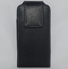Leather Pouch Case For iPhone 6 6s Rotate Swivel Holster Belt Clip