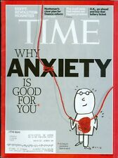 2011 Time Magazine: Why Anxiety is Good for You/Egypt Revolution/Lottery Tickets