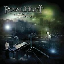 ROYAL HUNT LIFE TO DIE FOR CD + DVD SET