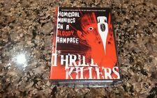 THE THRILL KILLERS DVD! NEW SEALED! SHRIEK SHOW 1965 HORROR RAY DENNIS STECKLER!