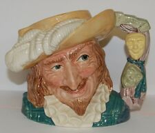 LARGE ROYAL DOULTON CHARACTER TOBY JUG SCARAMOUCHE D6814 ** PERFECT **
