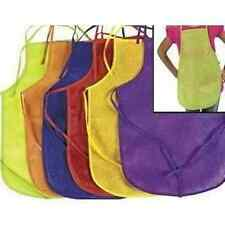 12 Children's Craft Fabric Aprons - Painting Cooking School Home Assorted Colors