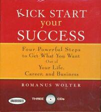 New 3 CD Kick Start Your Success Romanus Wolter