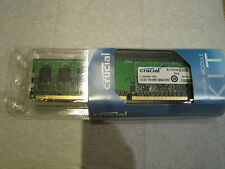 Crucial CT12864AA667 Memory Module Kit PC2-5300 2 GB DIMM 667 MHz DDR2 SDRAM
