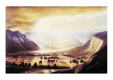 Hans Werner Sahm Weitblick Poster Kunstdruck Bild 40x50cm