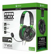 Turtle Beach Ear Force Recon 50X Gaming Headset (Xbox One/PS4/Mac/PC DVD) NEW