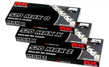 RK Chain 520 Max O-Ring Sealed Motorcycle Chain 104 Links 520MAXO-104 1222-0414