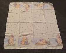 CLASSIC WINNIE THE POOH BABY COTTON FLANNEL RECEIVING SWADDLE BLANKET