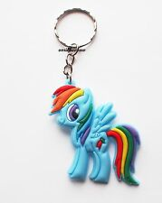 My Little Pony Rainbow Dash Keyring Bagcharm Keychain Zip puller Rubber PVC