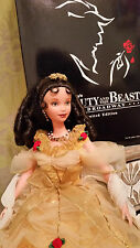 Beauty and the beast broadway belle doll by mattel collector barbie disney