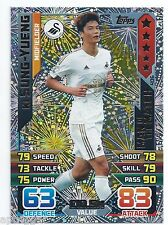 2015 / 2016 EPL Match Attax Man of the Match (406) Ki SUNG-YUENG Swansea