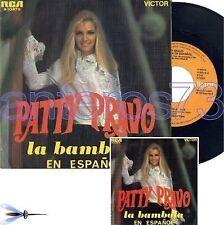 """PATTY PRAVO """"LA BAMBOLA"""" RARO 45GIRI IN SPAGNOLO"""