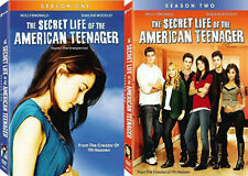 The Secret Life Of The American Teenager Vol. 1 + 2 . Complete Season 1 . 6 DVD
