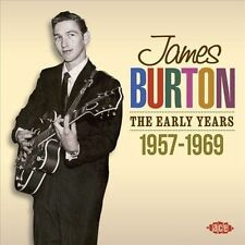 The Early Years: 1957-1969 * by James Burton (CD, Sep-2011, Ace (Label))