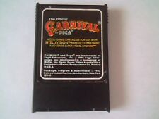 Carnival by Sega Coleco Vision Intellivision 1982 Video Game Cartridge