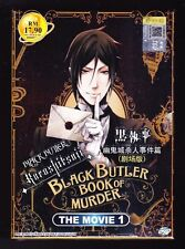 *NEW* BLACK BUTLER BOOK OF MURDER MOVIE ONE *ENGLISH SUBS*ANIME DVD*US SELLER*