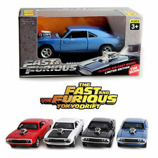 1:32 BLACK Dodge Charger Fast & Furious Alloy Diecast Sport Racing Car Kids Toy