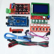 CNC Kit for Arduino Mega 2560 R3 + RAMPS 1.4 Controller + LCD 12864 + 6 Limit