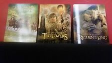 LORD OF THE RINGS 1 2 3 TRILOGY 3D Lenticular Magnet Cover for BLURAY STEELBOOK