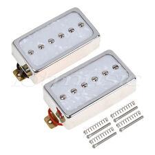1 Set Single Coil Pickups Bridge and Neck for Les Paul LP Electric Guitar Parts