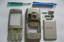 Silver Full Fascia Housing Cover for Nokia N82 + Keypad