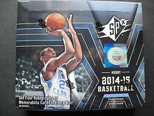 Upper Deck NBA Basketball trading cards SPX 2014/15 hobby box 4 hits coche!!!