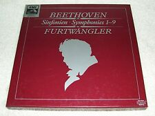 BEETHOVEN/Furtwangler~Symphonies 1-9~EMI HMV digital DMM 6-LP Box NM