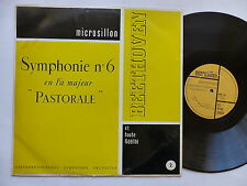 BEETHOVEN Pastorale OESTERREICHISCHES SYMPHONIE ORCHESTER Microsillon MHF 2