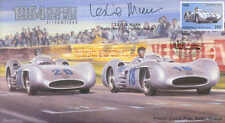 1954a MERCEDES BENZ W196 STREAMLINED, REIMS F1 Cover signed LESLIE MARR