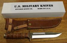 NEW Ontario Knife Company 6311 P4 USMC Combat w/ 440A Stainless Fixed Blade USA!
